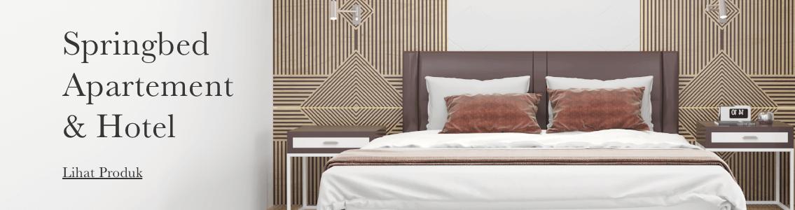 Harga spring bed bella hotel apartement surabaya