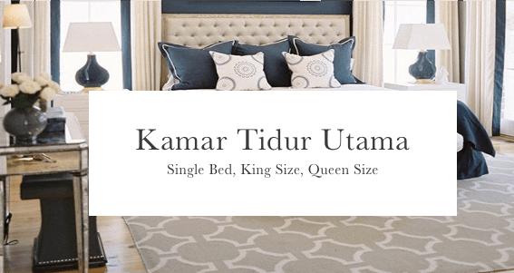 Harga spring bed kamar tidur utama surabaya