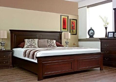 Sandaran spring bed Kayu
